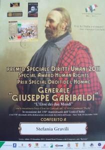 Premio diritti umani
